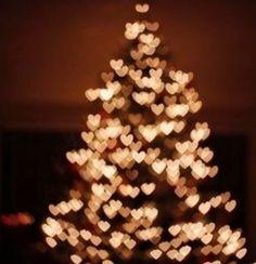 Albero di natale di cuori..Tu sei la stella in cima del mio albero