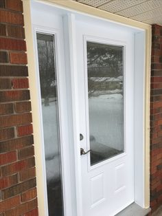Entry Door w/Rain Glass Entry Doors, Rain, Windows, Glass, Front Doors, Rain Fall, Drinkware, Waterfall, Rain Photography