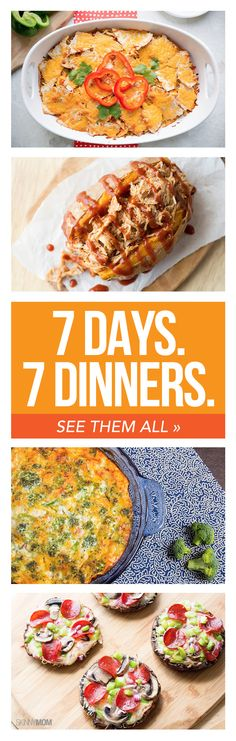 7 healthy dinners your family will love!
