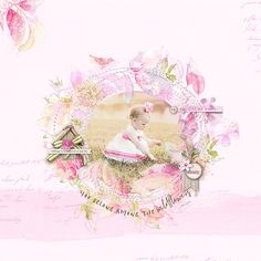 Get the free template and watch the video on the YouTube Channel Readymade Botanica Baby Girl Scrapbook, Scrapbook Pages, Pretty In Pink, Digital Scrapbooking, Aurora Sleeping Beauty, Channel, Template, Watch, Youtube