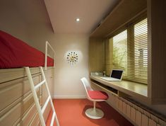 Dormitorio nº2 Home Office, Corner Desk, Loft, Bed, Furniture, Home Decor, Houses, Architects, Yurts