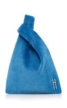 Hayward Corduroy Mini Shopper In Blue Fashion Bags, Fashion Accessories, Sac Week End, Diy Handbag, Fabric Bags, New Bag, Cloth Bags, Handbags Michael Kors, Corduroy