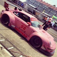 #98 Porsche 993 RWB HOOTERS