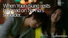 City hunter~~| that was so cute moment. This is scene is in every drama of LMH and i love this scene