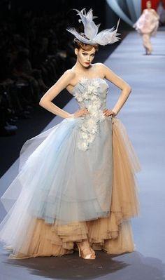 galliano couture | John Galliano | Christian Dior Haute Couture | Karlie Kloss | MyFDB ...