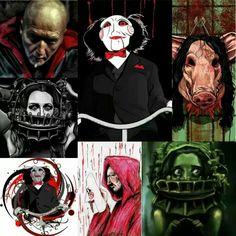 Horror Icons, Horror Art, Jigsaw Movie, Jigsaw Saw, Horror Movie Characters, Horror House, Best Horrors, Fright Night, Movie Photo