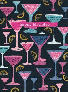 Rebecca Prinn - R Prinn Cocktail Glasses Female Birthday