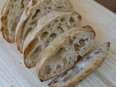 Kovászos ciabatta – Péklány leszek blog Ciabatta, Bread, Food, Kitchen, Cooking, Brot, Essen, Kitchens, Baking