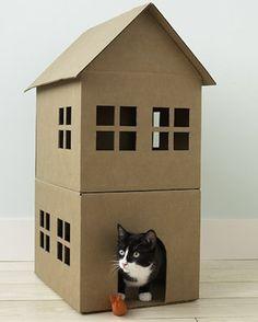 Casas para perros y gatos handmade-el tarro de ideas-4