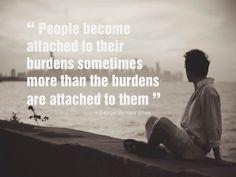 People & their burdens