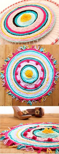 DIY T-Shirt Rug Tutorials - DIY Accessories