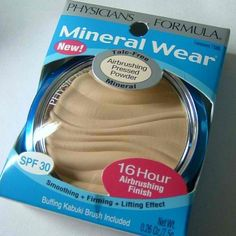 My second favorite drugstore foundation. I actually prefer this mineral makeup over some of the more expensive pressed mineral foundations I have tried. Only $15 for a kit