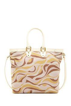 Multicolor Pattern Tote Bag