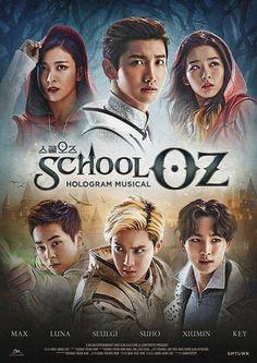 {NEWS} SM Entertainment to launch first hologram musical 'School OZ' starring… Korean Drama Romance, Korean Drama List, Korean Drama Series, Suho, Drama Korea, School Oz, Asian Actors, Korean Actors, Kdrama