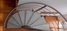 Spindeltreppe für modernes Design