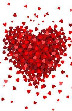 Small Hearts Big Heart Photo Backdrop // PolyPaper Photograp… – Wallpaper World Love Heart Images, Heart Pictures, Images Of Hearts, I Love Heart, Happy Valentines Day Images, Be My Valentine, Happy Mothers Day Images, Heart Wallpaper, Love Wallpaper