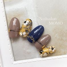 いいね!493件、コメント2件 ― Mariko tanabeさん(@nailsalonmomo)のInstagramアカウント: 「#nail#nails#nailart#nailstagram#autumnnails…」