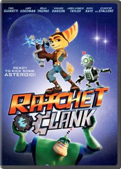 """Based on the popular video game franchise, Ratchet & Clank follows two unlikely heroes as they struggle to stop a vile alien from destroying every planet in the Solana Galaxy. Ratchet is the last of his kind, a foolhardy """"Lombax"""" who has grown up alone on a backwater planet with no family of his own. Clank is a pint-sized robot with more brains than brawn."""