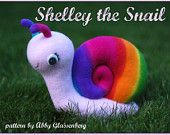 Shelley the Snail - PDF Sewing Pattern, Quick and Easy to Sew & Includes Step-By-Step Photos