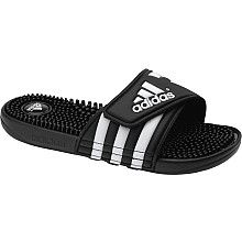 premium selection 0658c a3743 adidas Women s adissage Slides - SportsAuthority.com Adidas Sandals, Black  Adidas Shoes, Pink