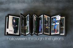 eighteen25: halloween through the years