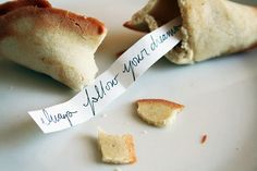 homemade fortune cookies | Cooking Blog