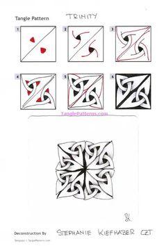 how to draw head Easy Zentangle Patterns, Zen Doodle Patterns, Doodle Art Designs, Art Patterns, Macrame Patterns, Zentangle Drawings, Doodles Zentangles, Doodle Drawings, Tangle Doodle