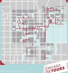 Chicago Pedway Map