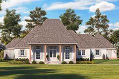 Madden Home Design - Acadian House Plans, French Country House Plans Acadian Style Homes, Acadian House Plans, French Country House Plans, Southern House Plans, Southern Homes, Southern Style, Architectural Design House Plans, Architecture Design, Madden Home Design