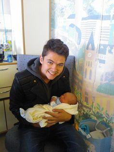 Damian McGinty Celtic Thunder with his nephew Noah