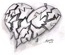 Broken Hearts With Wings Drawings - Bing images