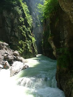 Aar Gorge, Switzerland