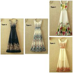 Women floral gown 1199