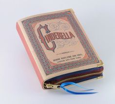 Cinderella Book Clutch by p.s. Besitos