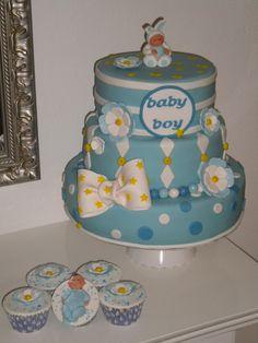 Babyboy cake