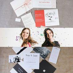 Essas duas lindas são as designers da @sistersisterpapelaria. Puro amor e inspiração em forma de convite.  #papelariapersonalizada #papelariadecasamemto #casamento #fornecedornoivadebotas by anoivadebotas