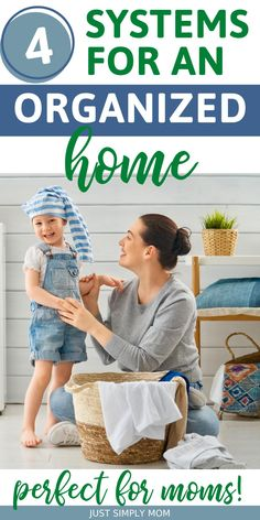Don't let the excessive stuff in your home overwhelm you! These top tips will help any mother take control of the stuff and keep their home organized. What you need to know about staying organized when you have kids in your home. The top tips for decluttering and organizing a family home. Keeping your home organized easily, even when you have a young family. #OrganizedHome #FamilyHome #MomLife Home Organization Hacks, Organizing, Organisation Ideas, Nursery Organization, Young Family, All Family, Mom Advice, Life Advice, All About Mom