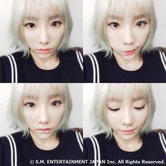 2016年ロングヘアーをばっさりカット ❥ 金髪ちびまる子テヨンちゃん - Taeyeon Candy News ☺ Snsd #taeyeon #snsd
