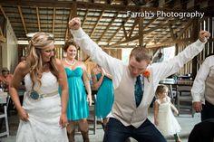 www.farrahsphotography.net #DanceOff #ReceptionFun #BrideAndGroomDance #FarrahsPhotography #BarnWedding