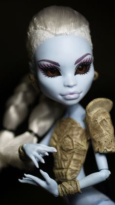 Monster High Abbey Bominable ooak doll by i1473