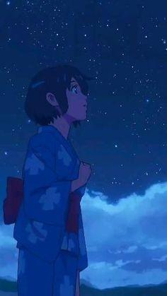 Deidara Wallpaper, Anime Wallpaper Live, Wallpaper Animes, Anime Backgrounds Wallpapers, Anime Scenery Wallpaper, Animes Wallpapers, Kimi No Na Wa Wallpaper, Your Name Wallpaper, Live Wallpapers