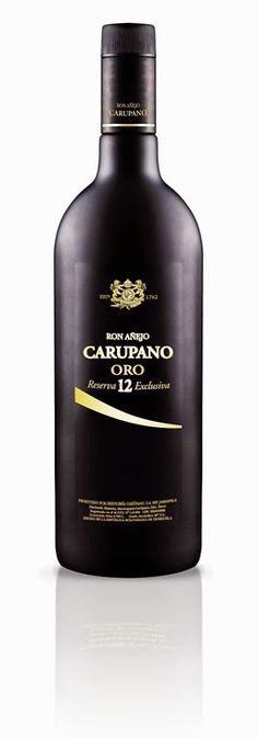 Carupano Oro, ron premium hasta 12 años, presentación 2014.