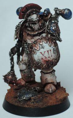 Pre Heresy World Eaters Captain Warhammer 40k Tabletop, Warhammer 40k Figures, Warhammer Models, Warhammer 40k Miniatures, Warhammer 40000, Chaos Legion, Chaos 40k, The Horus Heresy, Space Wolves