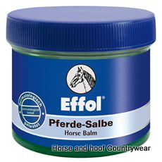 Effol Horse Balm Very popular not only with horses Cools relaxes and activates after stress Has a refreshing and vitalising effect on sore muscles