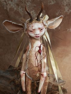 Discover recipes, home ideas, style inspiration and other ideas to try. Bjd Doll, Clay Dolls, Dolls Dolls, Bratz Doll, Barbie Dolls, Kokeshi Dolls, Magical Creatures, Fantasy Creatures, Creepy Dolls