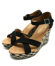 FREAK'S STORE WOMENS / TOMS/トムス Strappy Wedges Mixed Rope(サンダル)