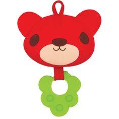 Hanging Baby Toy - Red Bear, Kawaii Kids