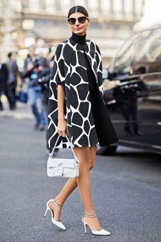 How to Look Expensive on a Budget / Geekglamma Giovanna Battaglia, White Fashion, Look Fashion, Womens Fashion, Paris Fashion, Trendy Fashion, Fashion Coat, Sporty Fashion, Ski Fashion
