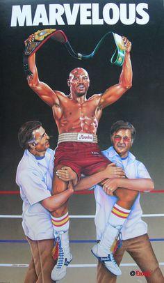 Classic Kicks — Marvin Hagler x Etonic Ufc Boxing, Boxing Club, Black Love Art, Black Is Beautiful, Marvelous Marvin Hagler, Mike Tyson Boxing, Boxing Images, Boxing Posters, Professional Boxing