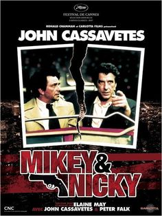 Mikey and Nicky : affiche Elaine May, John Cassavetes, Peter Falk.